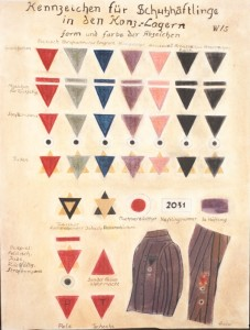 uniform with color codes